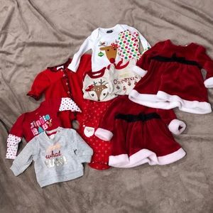 Baby Girl Christmas Bundle